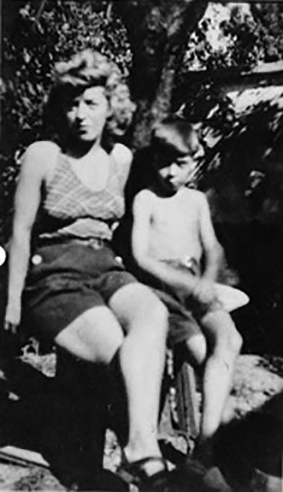 Huguette Prunier et son fils Serge